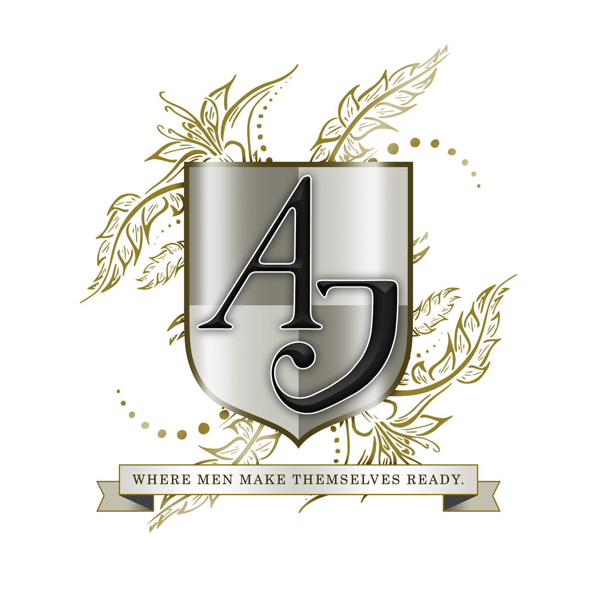 AJ Men's Grooming Logo - logo design by PixelDuck