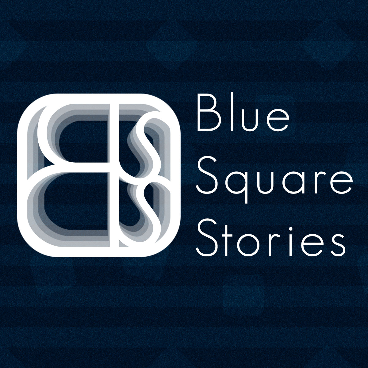 Blue Square Stories Musician Artis - logo design by PixelDuck
