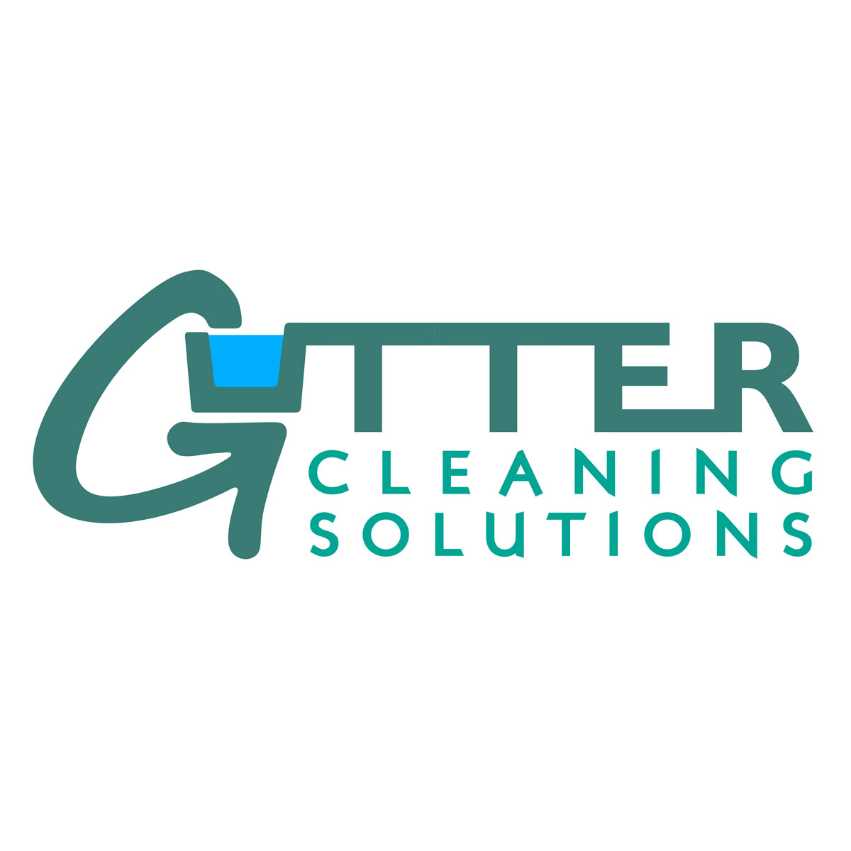Gutter Cleaning Solutions Business Logo - logo design by PixelDuck