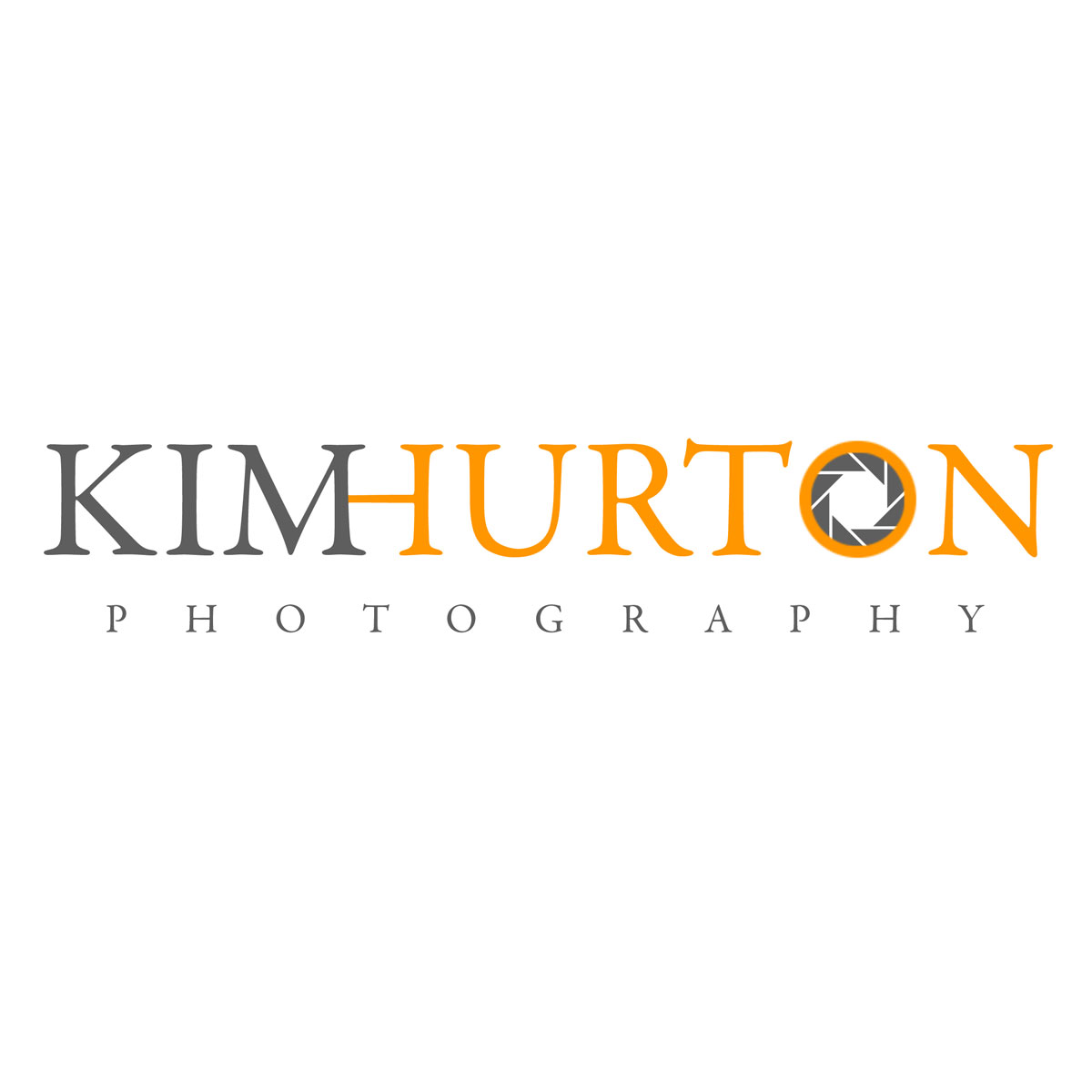 Kim Hurton Wedding Photography Logo - logo design by PixelDuck
